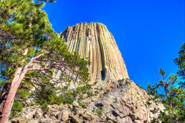 Devils Tower North side