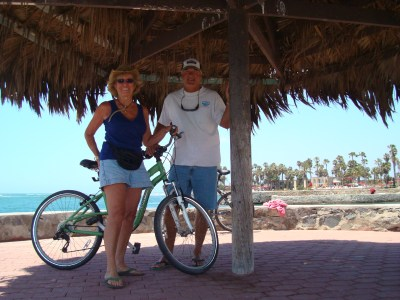 Bike riding at Estero Beach Resort