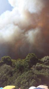 Disastro a Santa Margherita di Pula,  centinaia di persone evacuate