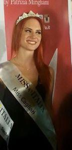 Cagliari. Una altra vittoria per la Miss di Soleminis