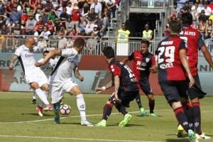 Il Cagliari batte 3-2 l'Empoli mettendolo nei guai