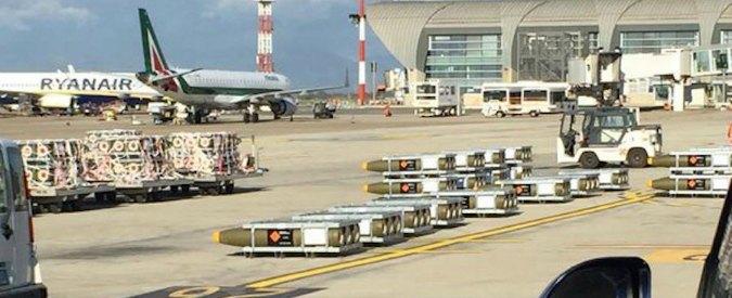Rwm. Governo blocca l'esportazione e il transito di bombe e missili