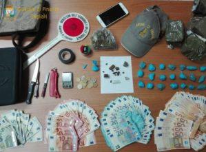 Cagliari. Arrestato ventenne di Capoterra per spaccio