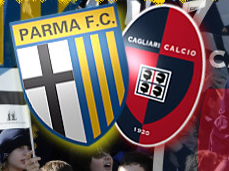 Cagliari-Parma l'anticipo delle 18