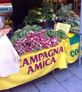 Oristano, Crostacei e mitili al mercato di Campagna Amica