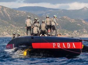 Cagliari – Luna Rossa disalbera in allenamento