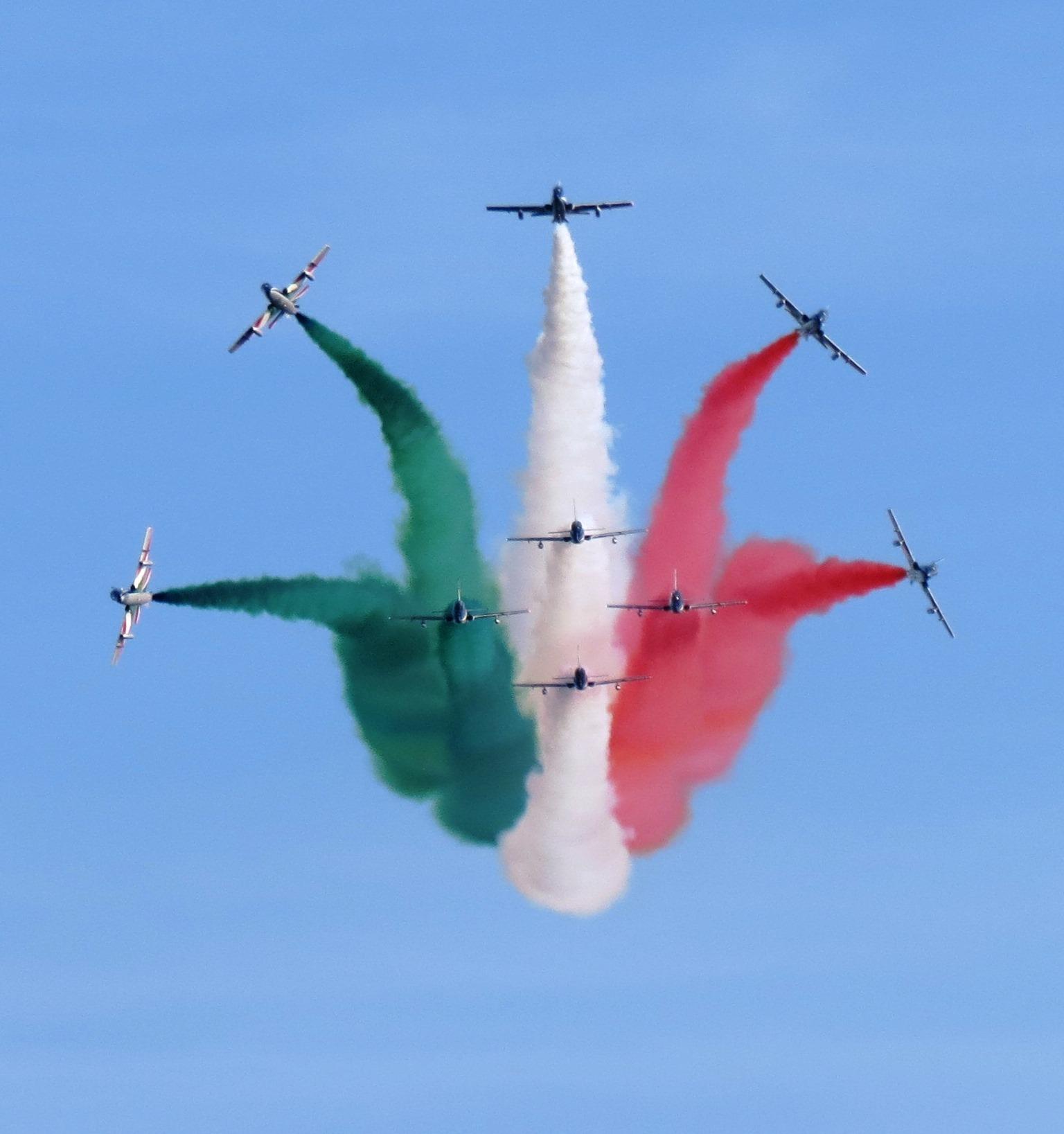 Festa della Repubblica: Le Frecce Tricolori a Cagliari il 27 maggio