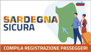 Emergenza Coronavirus : registrazione passeggeri in arrivo in Sardegna