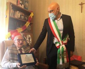 Oristano festeggia il nuovo centenario Marcello Langiu