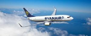 Ryanair, dal 21 giugno nuovamente a Cagliari