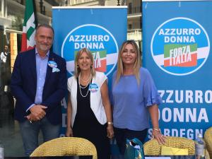 Forza Italia presenta Azzurro Donna, una squadra per la ripresa della Sardegna