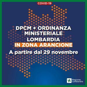 Covid. L'Italia cambia colore: Lombardia, Piemonte e Calabria arancioni