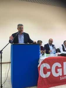 """Rifiuti radioattivi, Carrus (Cgil Sardegna): """"Il Governo si ricorda dell'isola solo per servitù militari e rifiuti tossici"""""""