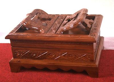 Rekal Al Quran Box Kayu Jati