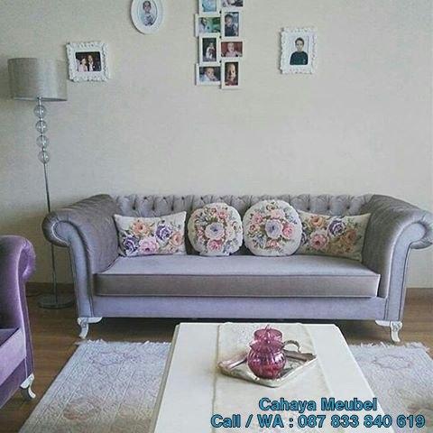 Set Sofa Tamu Modern Mewah