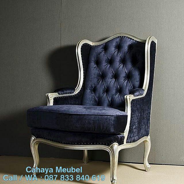 Kursi Sofa Wing Chair Minimalis