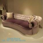 Sofa Santai Mewah Bludru