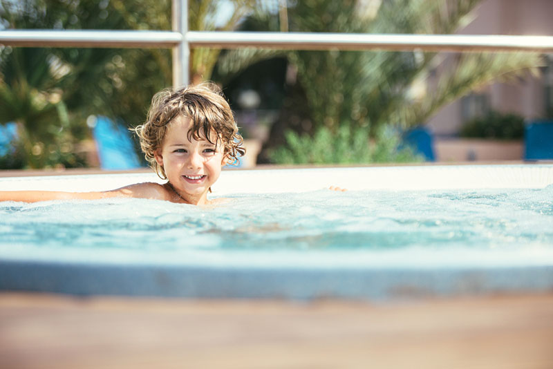 Are Hot Tub Good for Kids
