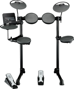 C  A  House Music   Yamaha DTX400K Electronic Drum Set w Rack Module     Yamaha DTX400K Electronic Drum Set w Rack Module Ft Pedal  USB
