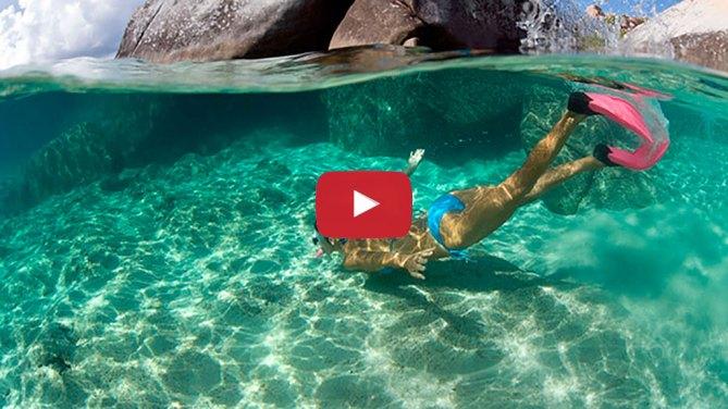 Snorkel en el Parque Nacional Cahuita