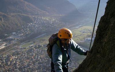 AG Perfezionamento 5 maggio 2019: Alpe Dalò, Ferrata Pasini del Sench