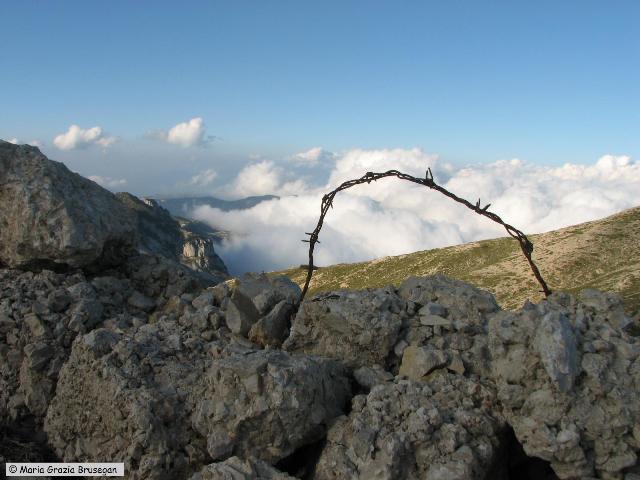 SENTIERO DELLA PACE 2011 - 3a tappa - MONTE PASUBIO (4)