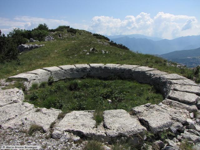 SENTIERO DELLA PACE 2010 - 2a tappa - Monte ALTISSIMO (Monte Baldo) (2)