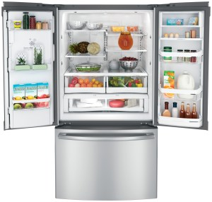 French-Door-Refrigerator-Open