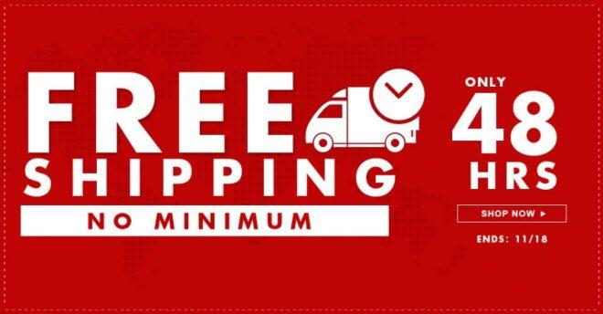 free shipping worlwide