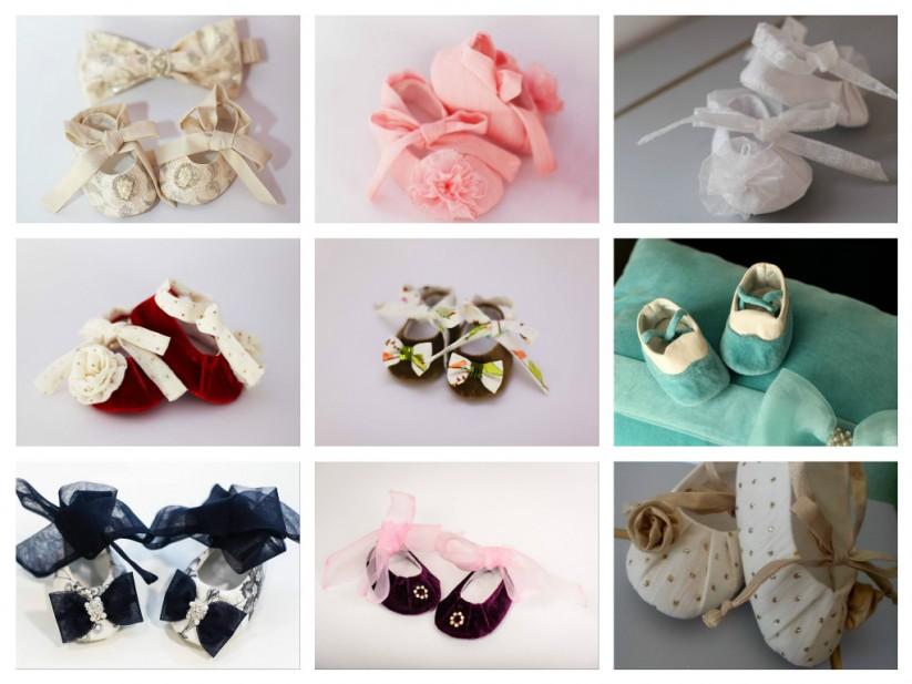 pantofiori textili de ceremonie, de ocazie