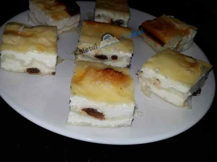 plăcinta cu iaurt