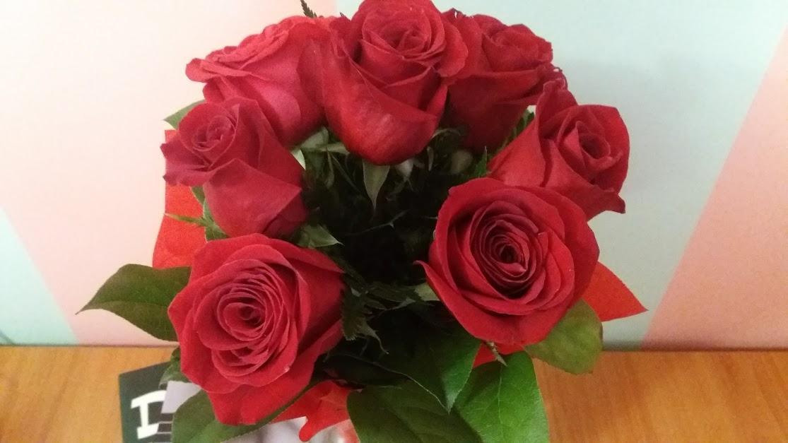 buchet de trandafiri