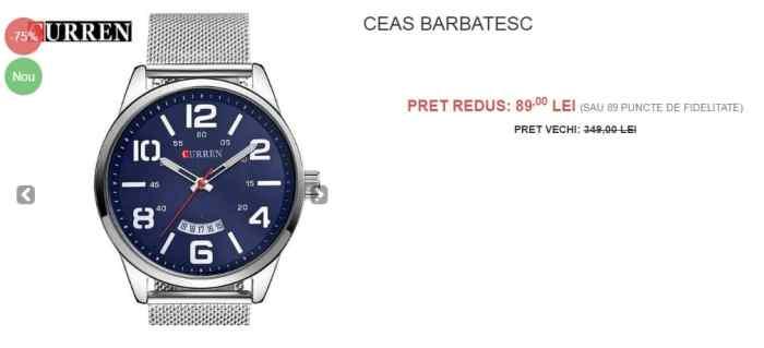 ceas curren pret redus