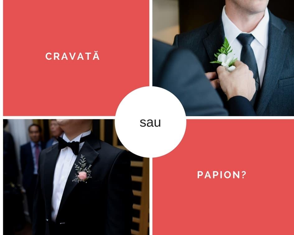 cravată sau papion