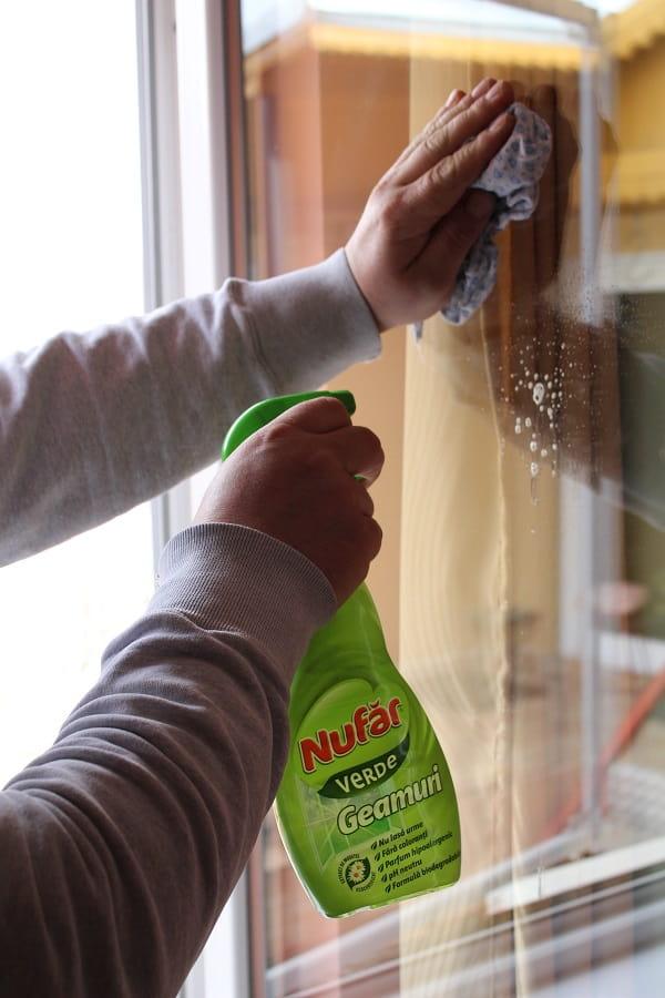 Nufăr verde pentru geamuri