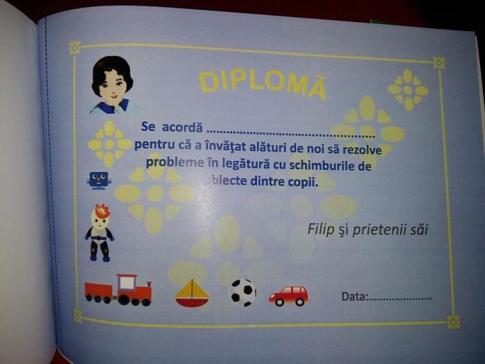 Vrei să facem schimb diploma pentru copii