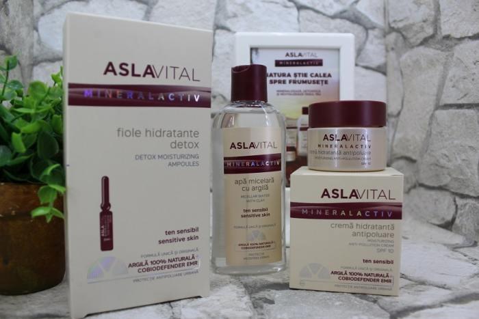 premiu produse Farmec gama Aslavital Mineralactiv