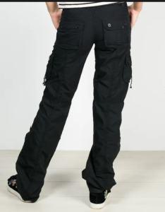 pantaloni cargo femei