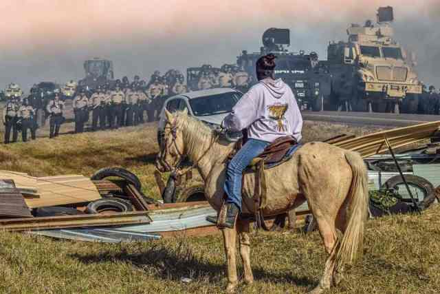 Stand off at Dakota Access Pipeline