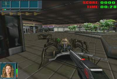 Caiman Free Games Eight Legged Freak By 3D Groove