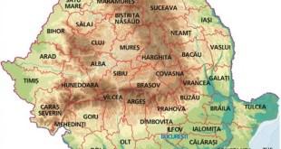 harta romaniai lacul ceauru
