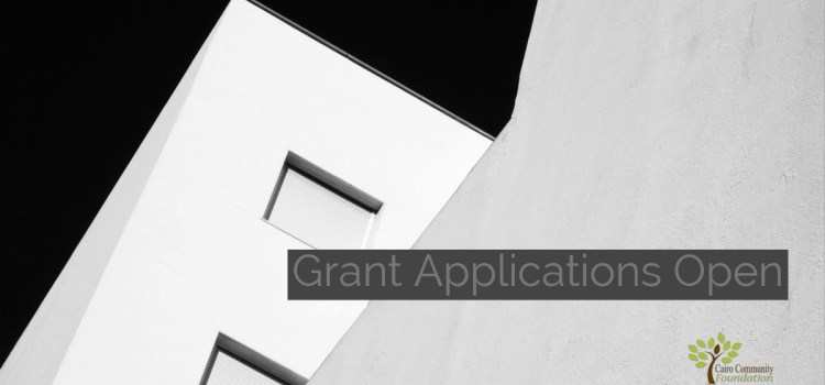 Grant Applications Open
