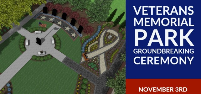 Veterans Memorial Park Groundbreaking