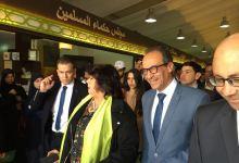 وزيرة الثقافة تزور معرض الكتاب