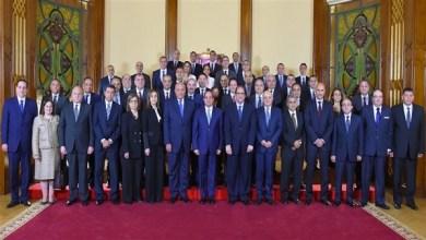 الرئيس السيسي مع السفراء المرشحين للعمل في الخارج