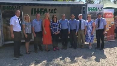 نائب وزير الزراعة في زيارة إلى أيرلندا