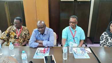 المؤتمر الصحفي للوفد السوداني بالقومي للمسرح