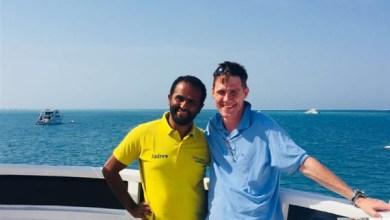 جون كاسن السفير البريطاني بالقاهرة
