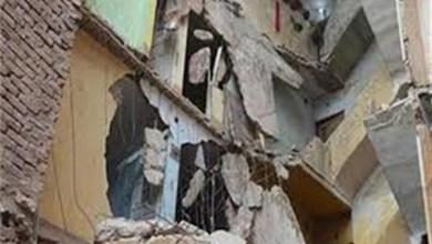 إصابة شخص في انهيار جزئي لعقار بمدينة السلام