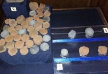 قوالب فخارية من العصر الروماني